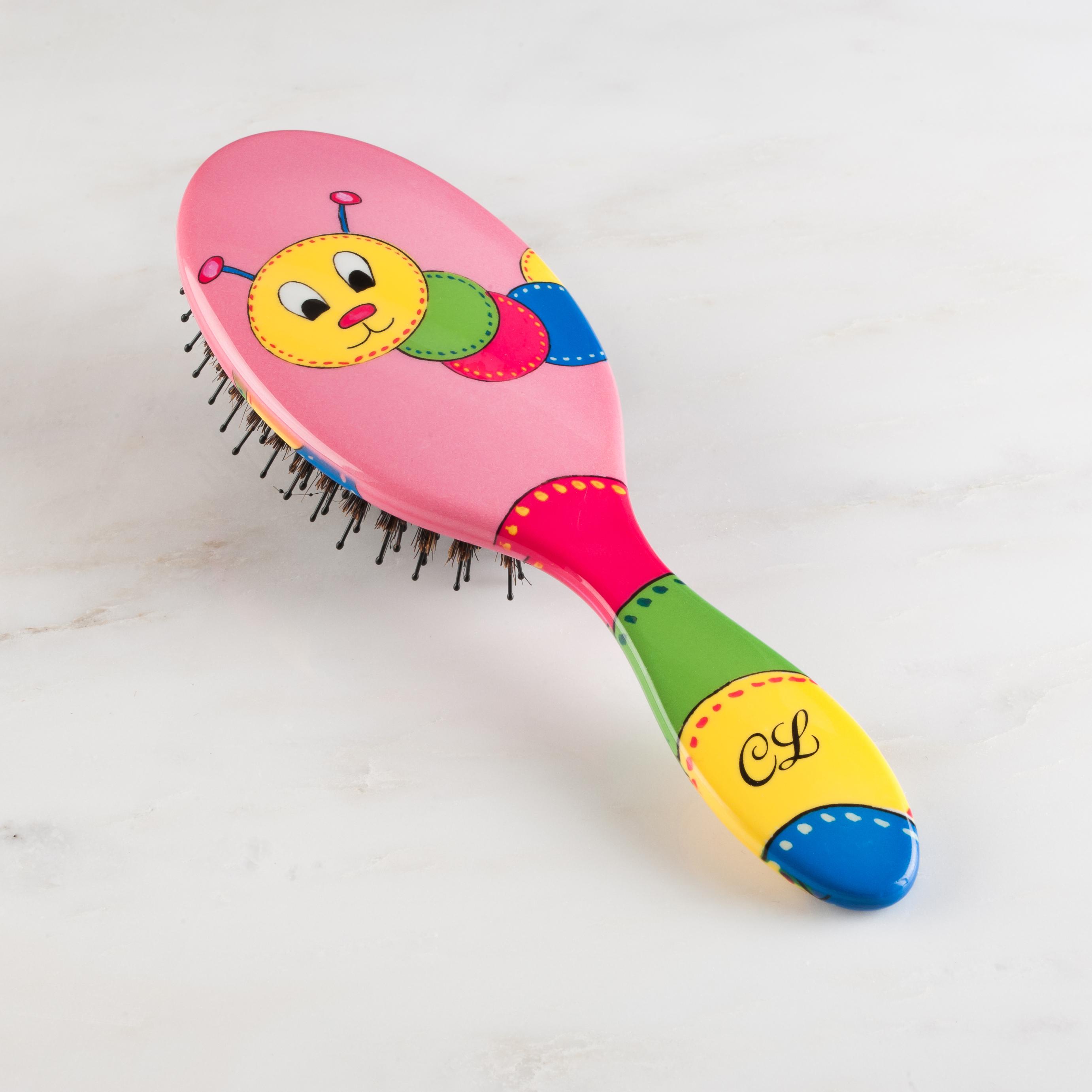 Caterpillar Hairbrush
