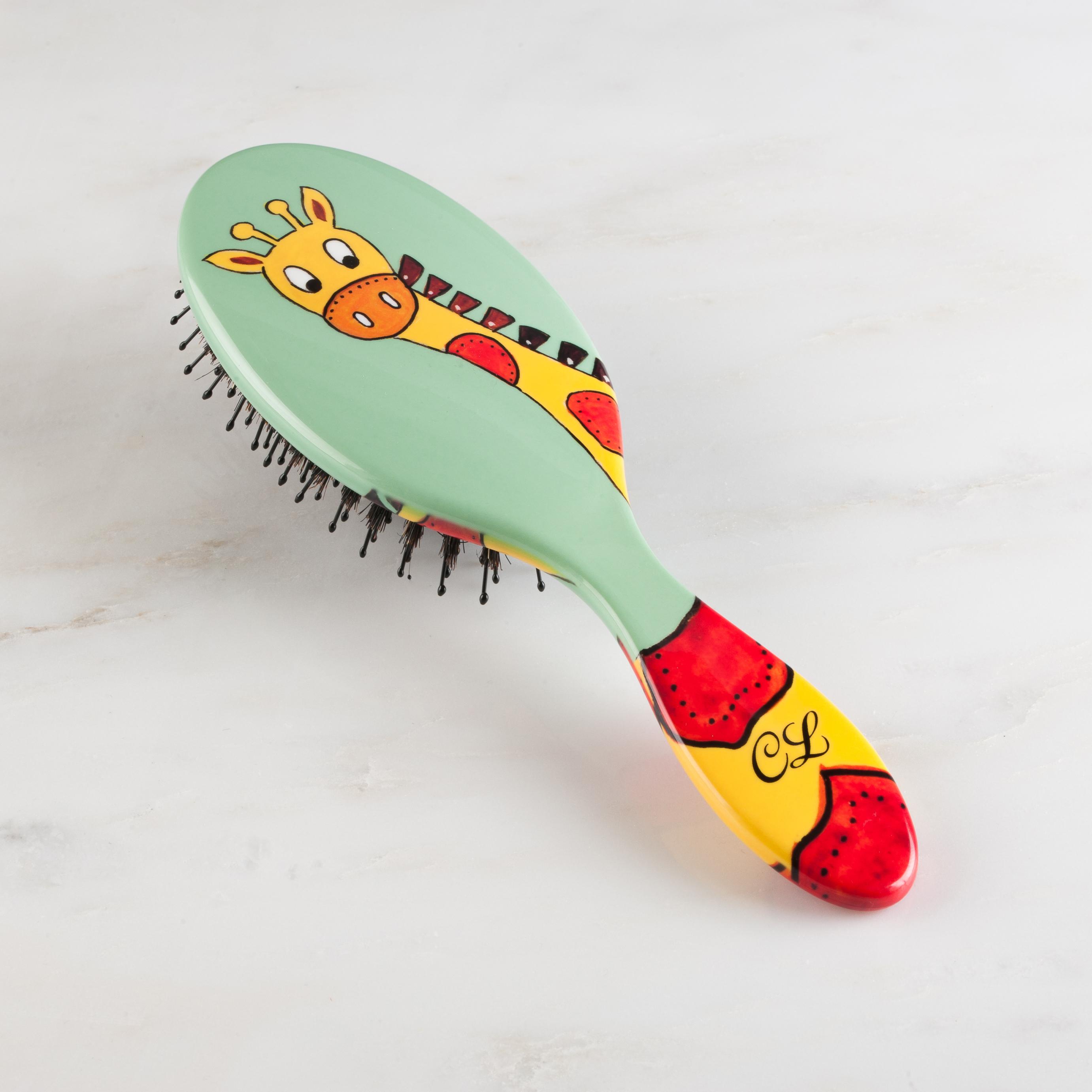 Giraffe Hairbrush
