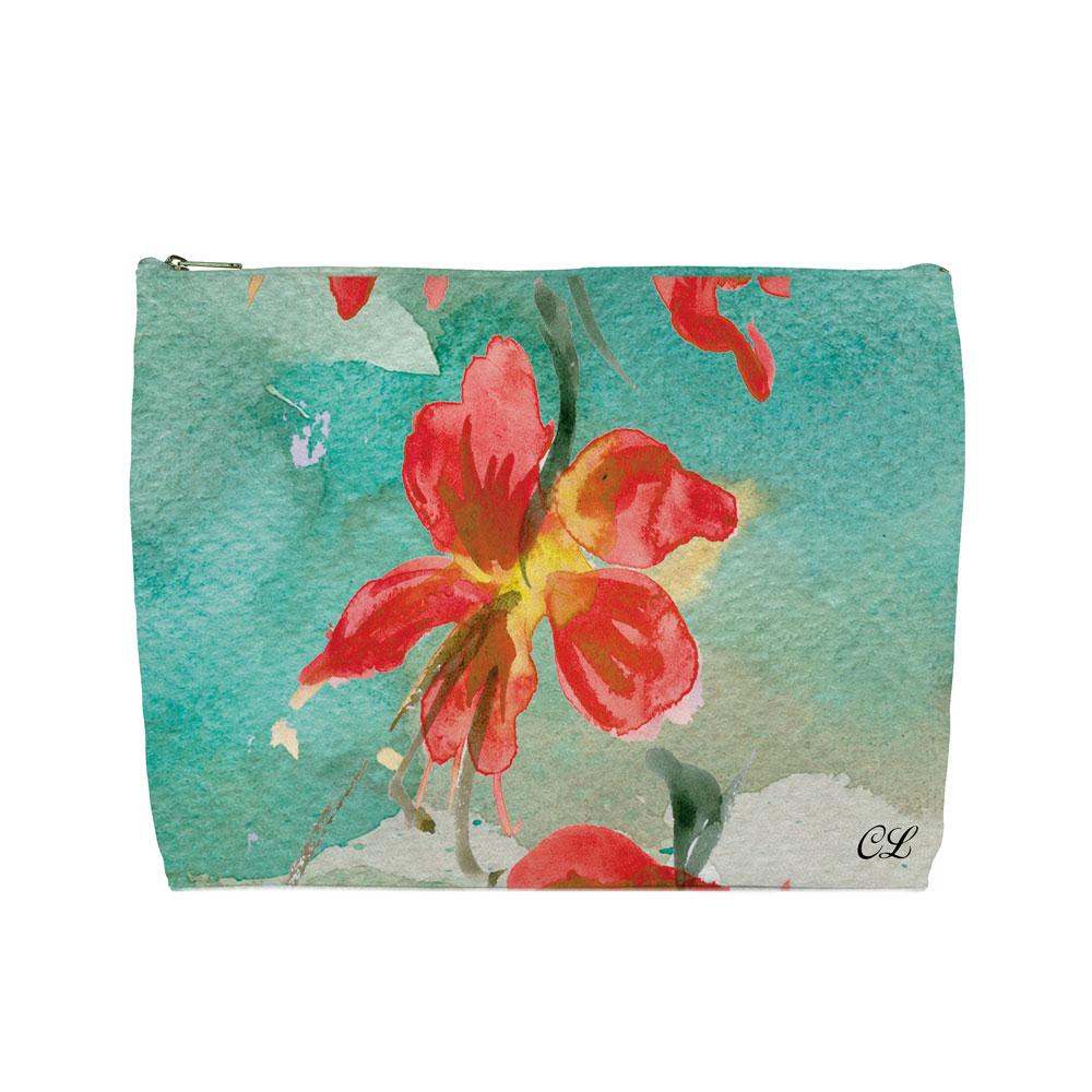 Floral Designed Wash Bags