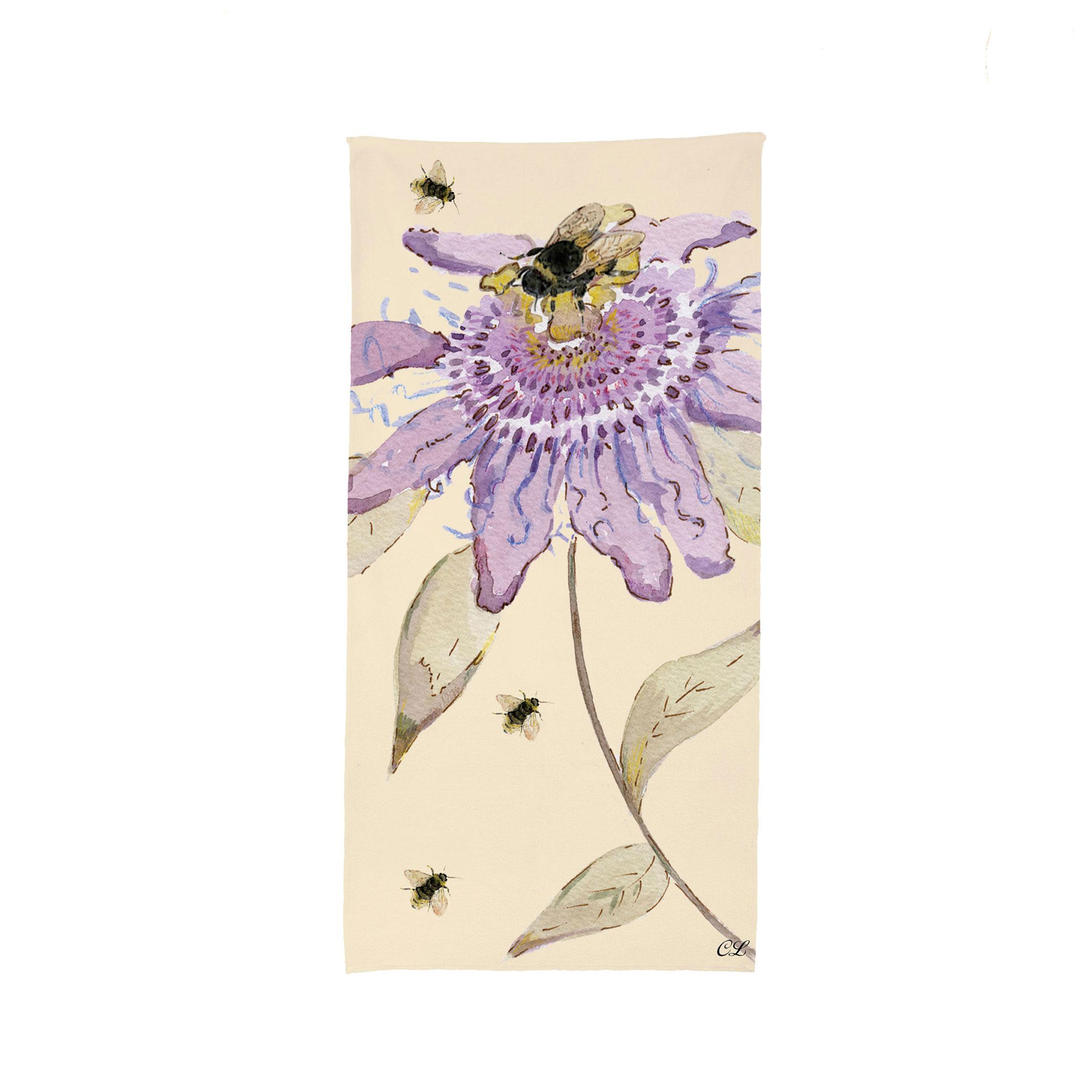 Passion Flower Towel