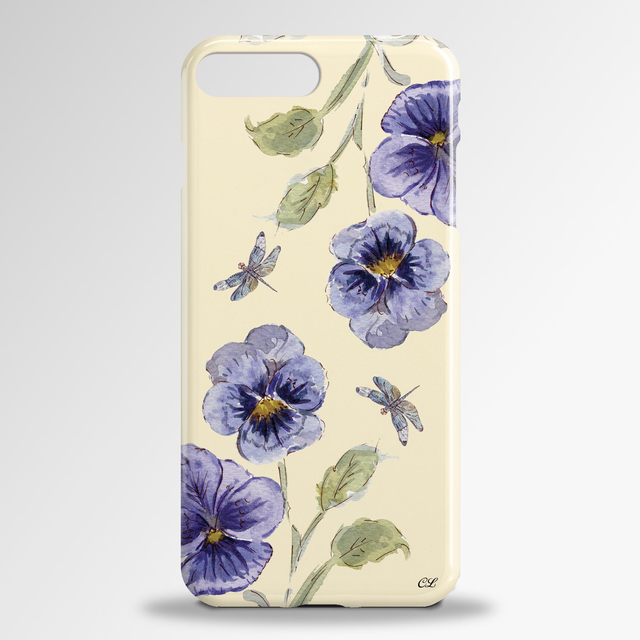 Pansies Samsung 3D Phone Case
