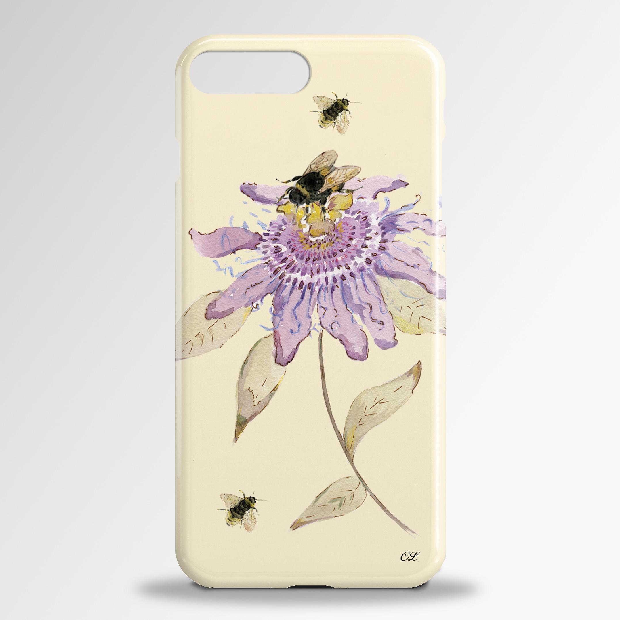 Passion Flower Samsung 3D Phone Case