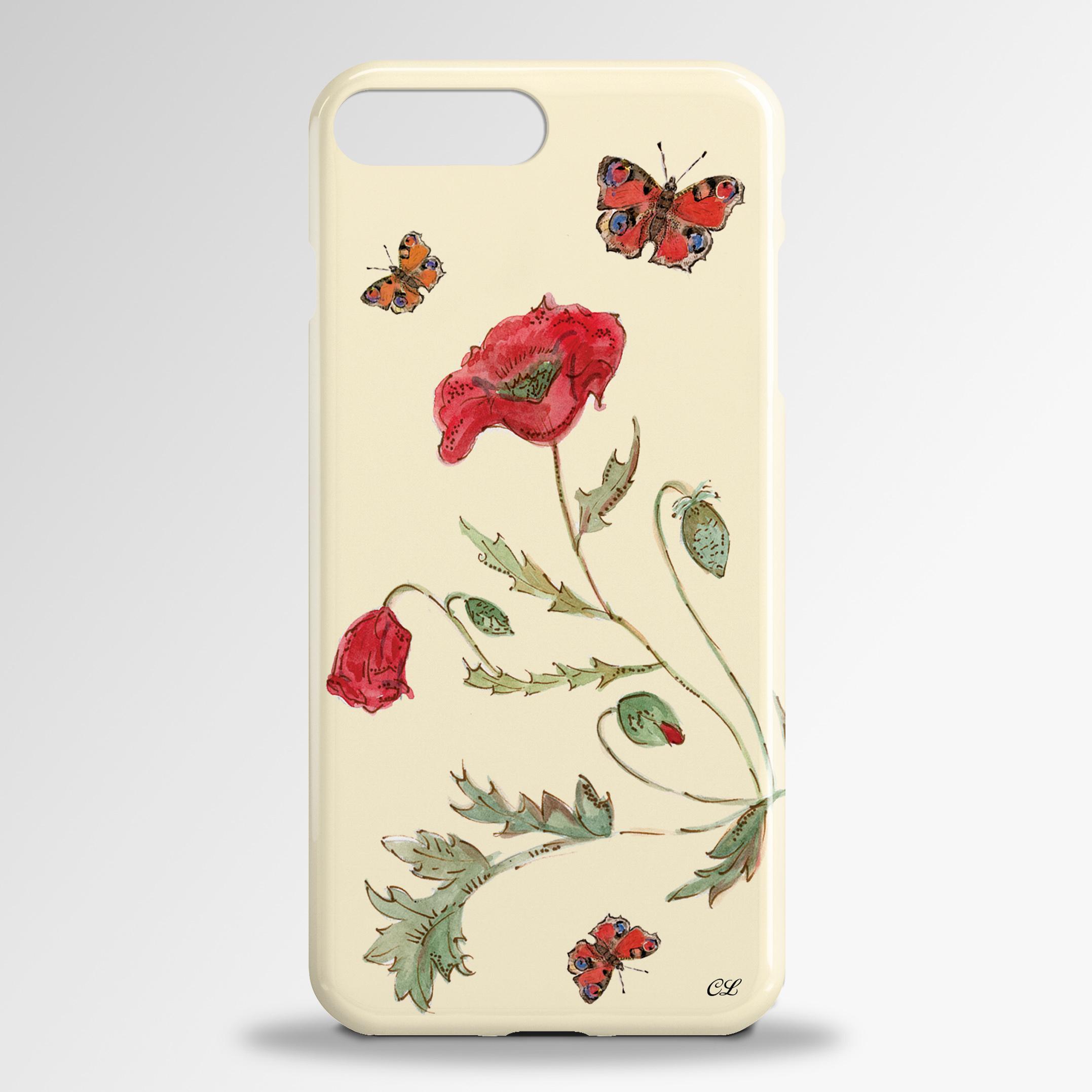 Poppies Samsung 3D Phone Case