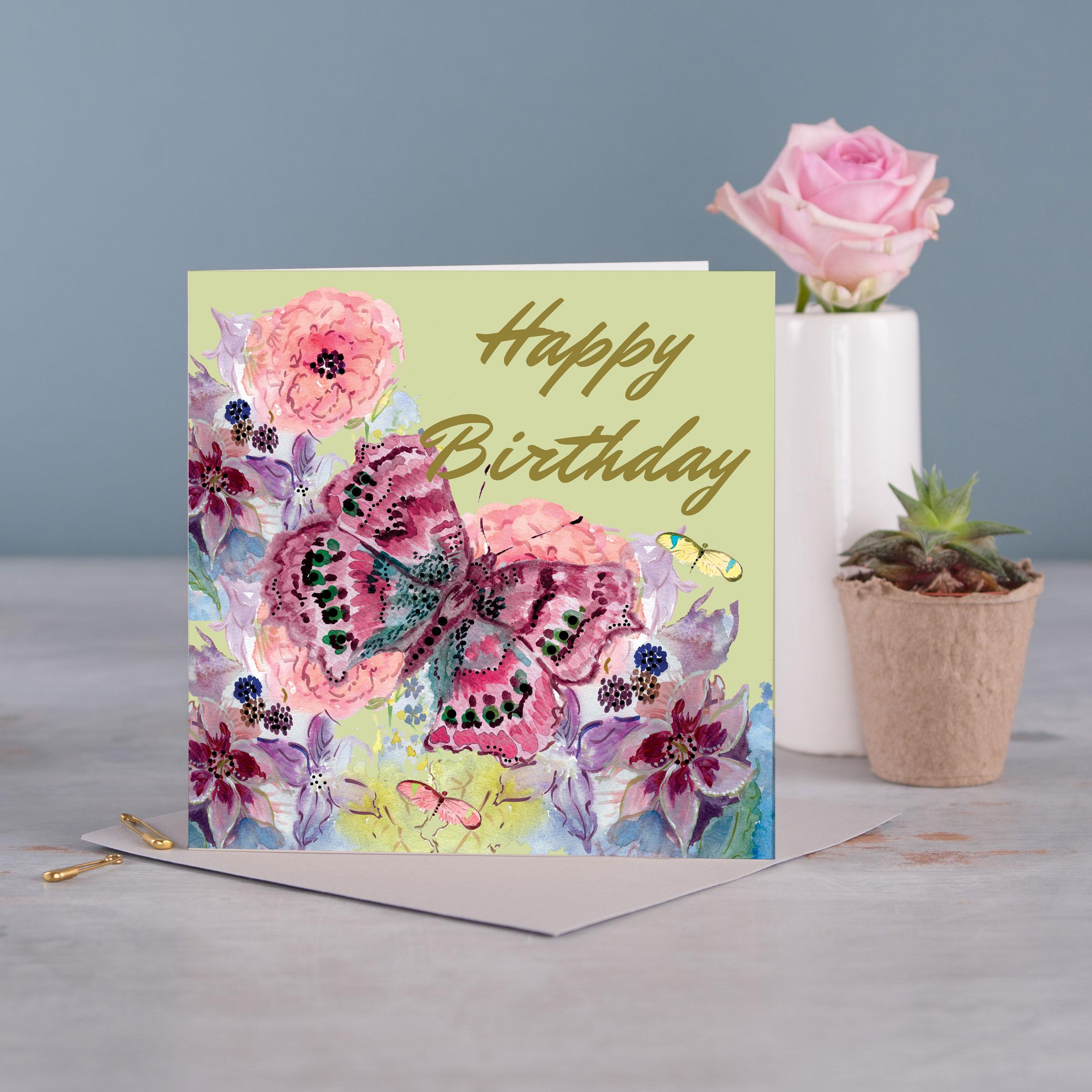 Fanciful Greetings Card