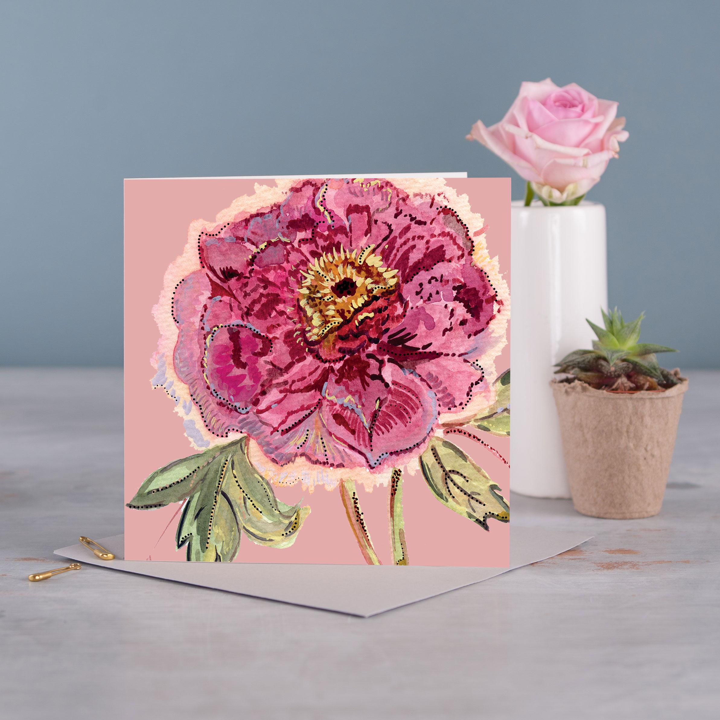 Romance Greetings Card