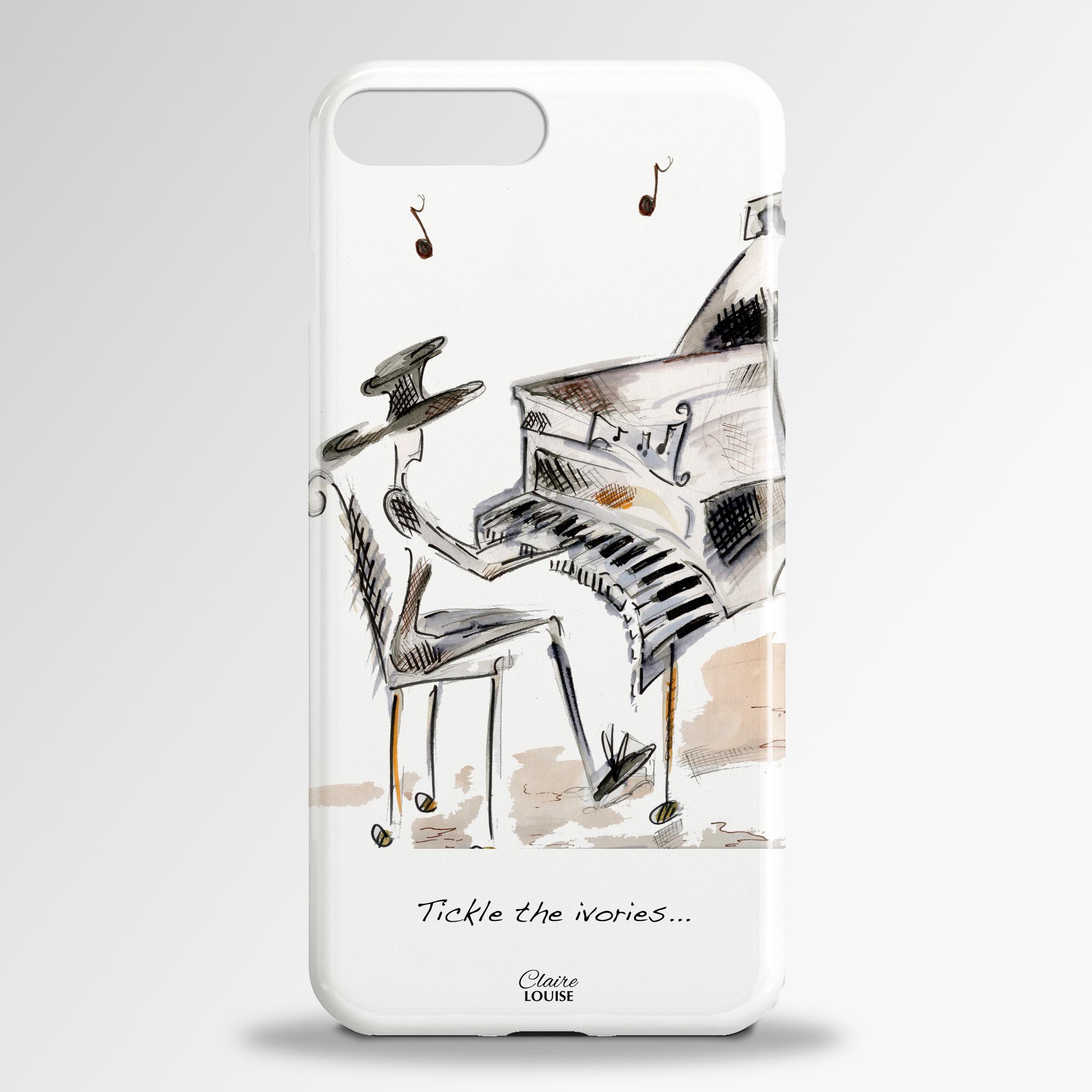 Tickle the Ivories Samsung 3D Phone Case