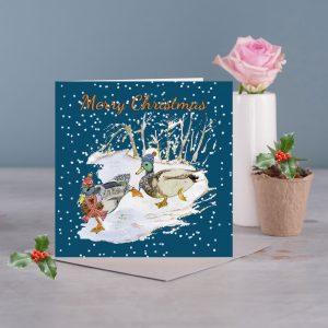 Ducsk Christmas Card