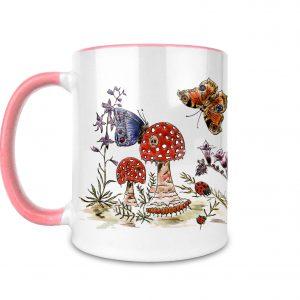 Mushroom Ceramic Mug