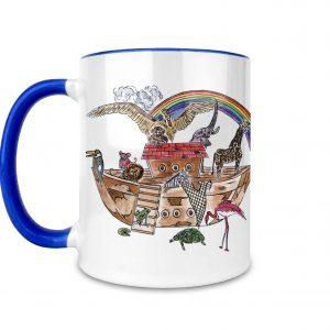 Noah's Ark Ceramic Mug
