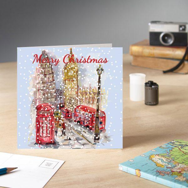 Big Ben Christmas Card