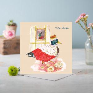 The dukes Greetings Card