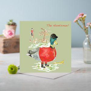 The Huntsman Greetings Card