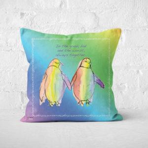 Rainbow Mountain Cushions (Positive Vibes)