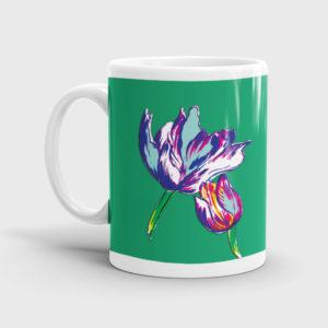 Floral Ceramic Mugs
